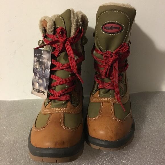 0d64999a830 [Santana Canada] Aquatherm Turnpike Boots Sz 7 NWT